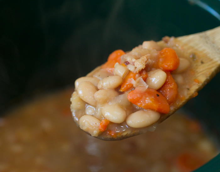 Crockpot Northern White Beans