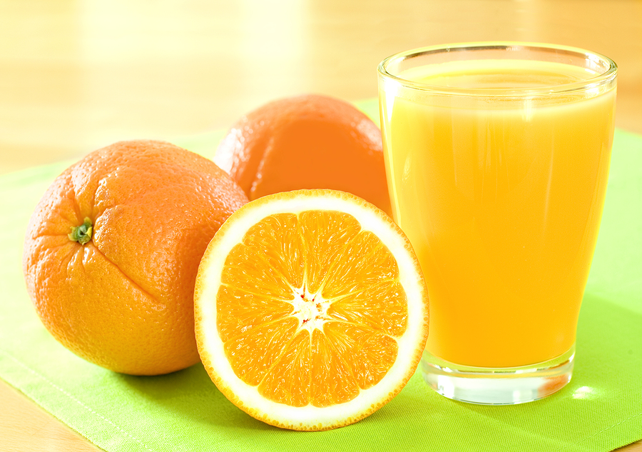 oranges and orange juice